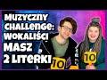 Muzyczny Challenge: Zaśpiewaj Piosenkę - Masz 2 Literki 🤩💃| Dzikie Ucho