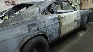 ВОЛГА Газ24 V8 ЗМЗ в Додж Чарджер (Своими руками) #4