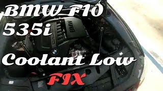 How to: Fix Coolant Dangerously Low BMW F10 535i