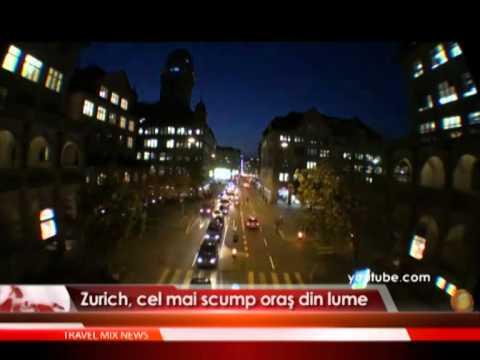 Zurich, cel mai scump oraş din lume.
