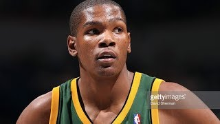 Kevin Durant's First NBA Game! (IMPRESSIVE)