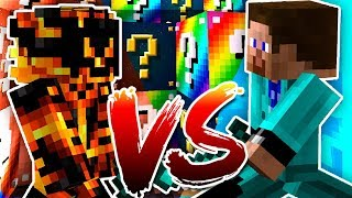 LUCKY BLOCK RACE 🍀❔ (MrSpyplant VS McKidPro) | #1
