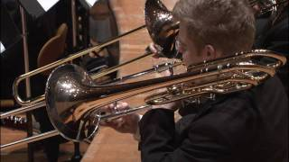 The Berliner Philharmoniker perform Schumann's Symphony No. 3 / Trombone tutorial