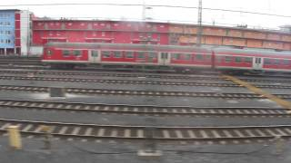 preview picture of video 'Leaving Nuremberg to Munich (February 2011)'