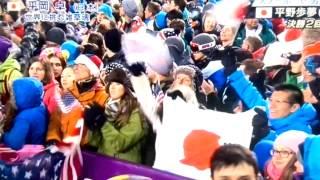平岡卓!ソチオリンピックハーフパイプ決勝!