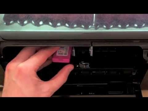 HP Photosmart C4780 - Changing the cartridges