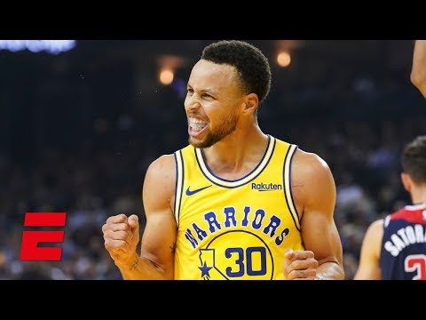 1501f5e00db8 Steph Curry drops 51 points and hits 11 3-pointers in Warriors win vs  Wizards