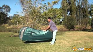 OZtrail Ensuite Pop Up - Pack Down Method