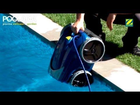 Cómo funciona un robot limpiafondos de piscina Zodiac Vortex