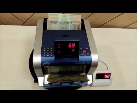 Note Counting Machine Godrej Crusader Lite