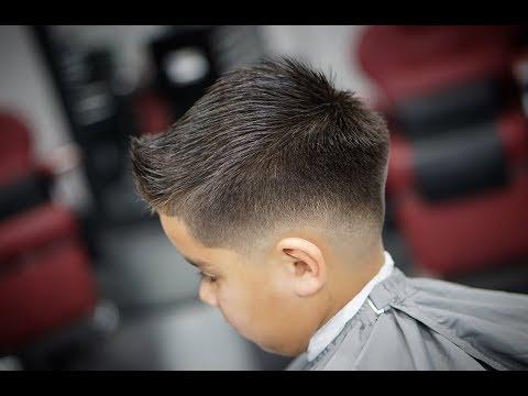 KIDS HAIR CUT   DROP FADE   TUTORIAL