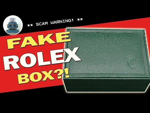 Fake Rolex Box?! - I Review Crap!