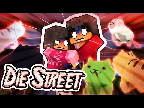 Night of the Living Cats!   MyStreet Minecraft Roleplay [Part #1]