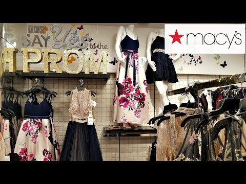 Shop With ME MACY'S DRESSES PROM 2018 IDEAS THALIA SODI JEWELRY