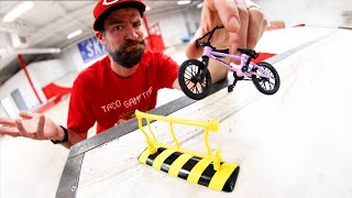 TRYING TO FINGER BMX (You Have To Land Something!) / Warehouse Wednesday