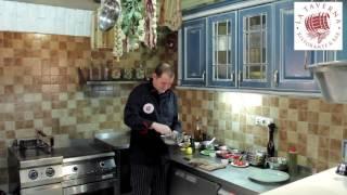 Закуска из артишоков от шеф-повара LA TAVERNA Михаила Дегтярева