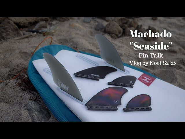 "Rob Machado ""Seaside"" Surfboard Fin Vlog by Noel Salas Ep.16"