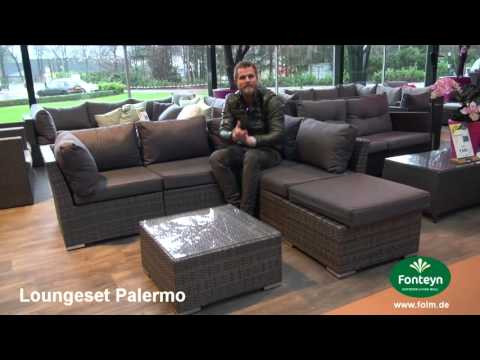 Gartenmöbelset Loungeset Palermo