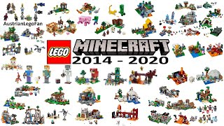 All LEGO Minecraft Sets From 2014 Up To Spring 2020 Compilation Of All Sets