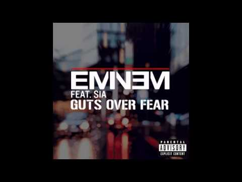 Eminem - Guts Over Fear (Feat Sia) (Full Song Download) 2014