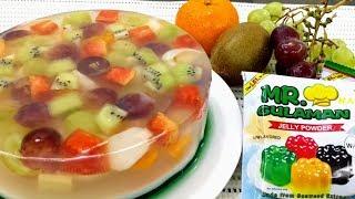 Fruit Cake Jelly Recipe l Dessert Recipe