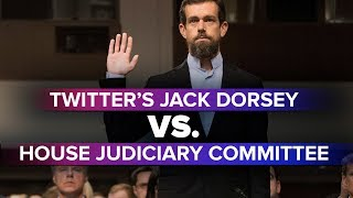 Twitter CEO Jack Dorsey Answers Questions At The House Energy And Commerce Committee