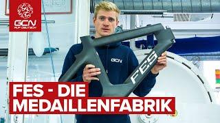 Wie man ein Carbon Fahrrad entwickelt, produziert und damit gewinnt! FES - Deutsche Geheimwaffen.