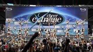 Cheer Extreme Sr Elite Showcase 2016