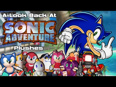 A Look Back At Sonic Adventure Plushes!