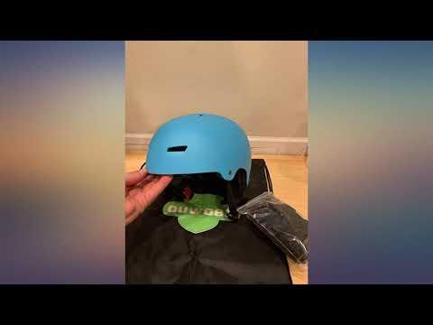 Skateboard Skate Scooter Bike Helmet, CPSC Certified, 3 Sizes for Kids, Youth, review