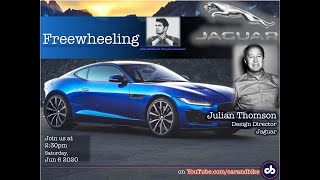 Freewheeling with SVP: Julian Thomson, Jaguar