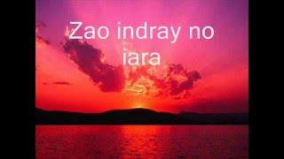 arahaba - Njakatiana (Karaoke-Lyrics)