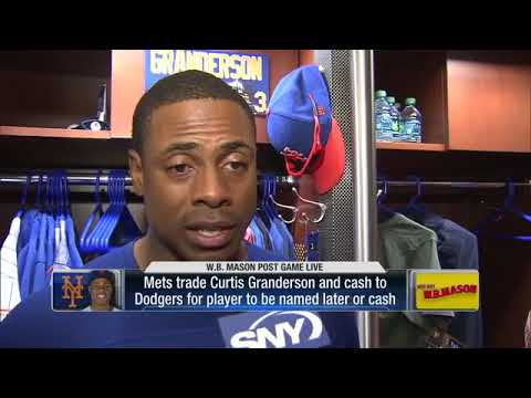 New York Mets trade Curtis Granderson to Los Angeles Dodgers