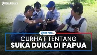 Suka Duka Tribun Network Peliput PON XX Papua: Jauh dari Stigma Negatif, Warga Papua itu Ramah
