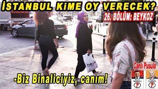 Beykoz Binali Yıldırım Mı, Ekrem İmamoğlu Mu Diyecek? İstanbul Seçim Anketi 26. Bölüm: Beykoz