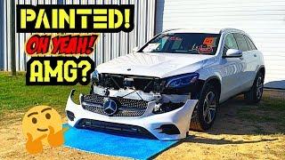 Rebuilding My Wife's New 2019 Mercedes Benz GLC 300 Part 4
