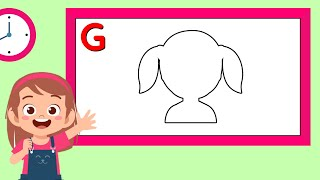 Phonics Alphabet Games | Letter G | Alphabet Game For Kids