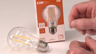 Leadleds Dimmable LED Bulb, 6.5W Vintage Edison Style Review