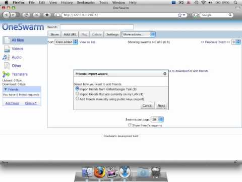 OneSwarm Restricts BitTorrent Downloads To Just Your Friends