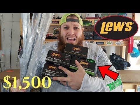 $1,500 Fishing UNBOXING!!! (New Partner!)