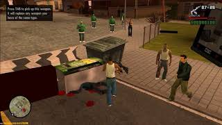 GTA San Andreas - War with Police - DYOM Mission