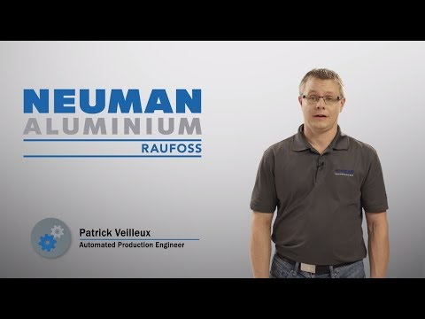 Working at Raufoss - Patrick Veilleux