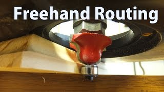 How To Use A Router Freehand  Beginners 11  Woodworkweb
