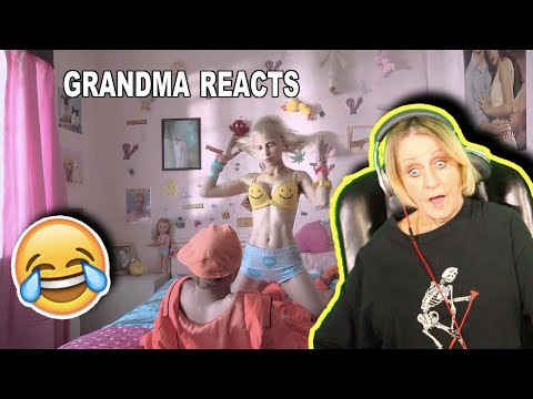 Grandma REACTS to DIE ANTWOORD - BABY'S ON FIRE (OFFICIAL) (видео)