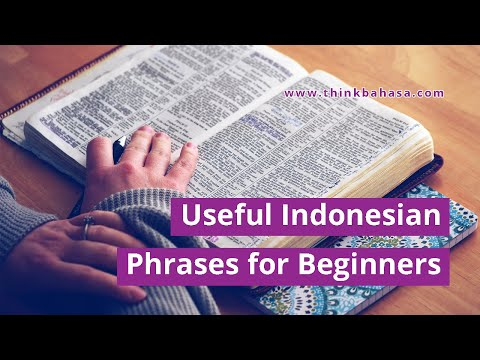 Useful Indonesian Phrases For Beginners