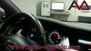 Audi A4 2.0CR CAGA 143HP to 216HP with turbo by Turbo-Upgrade.com