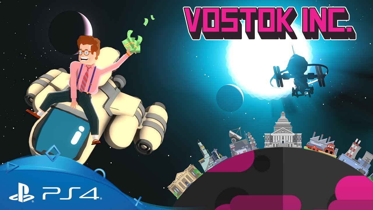 Vostok. Inc è ora disponibile per PS4 e PS Vita… non vedete l'ora di scoprirlo anche voi?