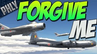 Forgive me, Phlyers, for I have sinned. (WAR THUNDER TU-4 GAMEPLAY)
