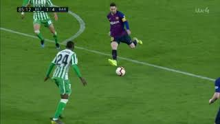 Outrageous Lionel Messi Chip Completes His Hat-trick! FCB 4-1 Real Betis!