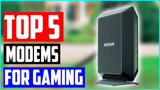 Best Modems for Gaming You Should Buy — Reviews In 2020